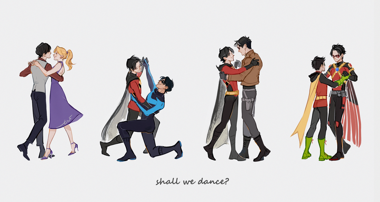 """toixx: """"I've been watching a bunch of musical movies recently and I really need some dancing bat kids in my life. """""""