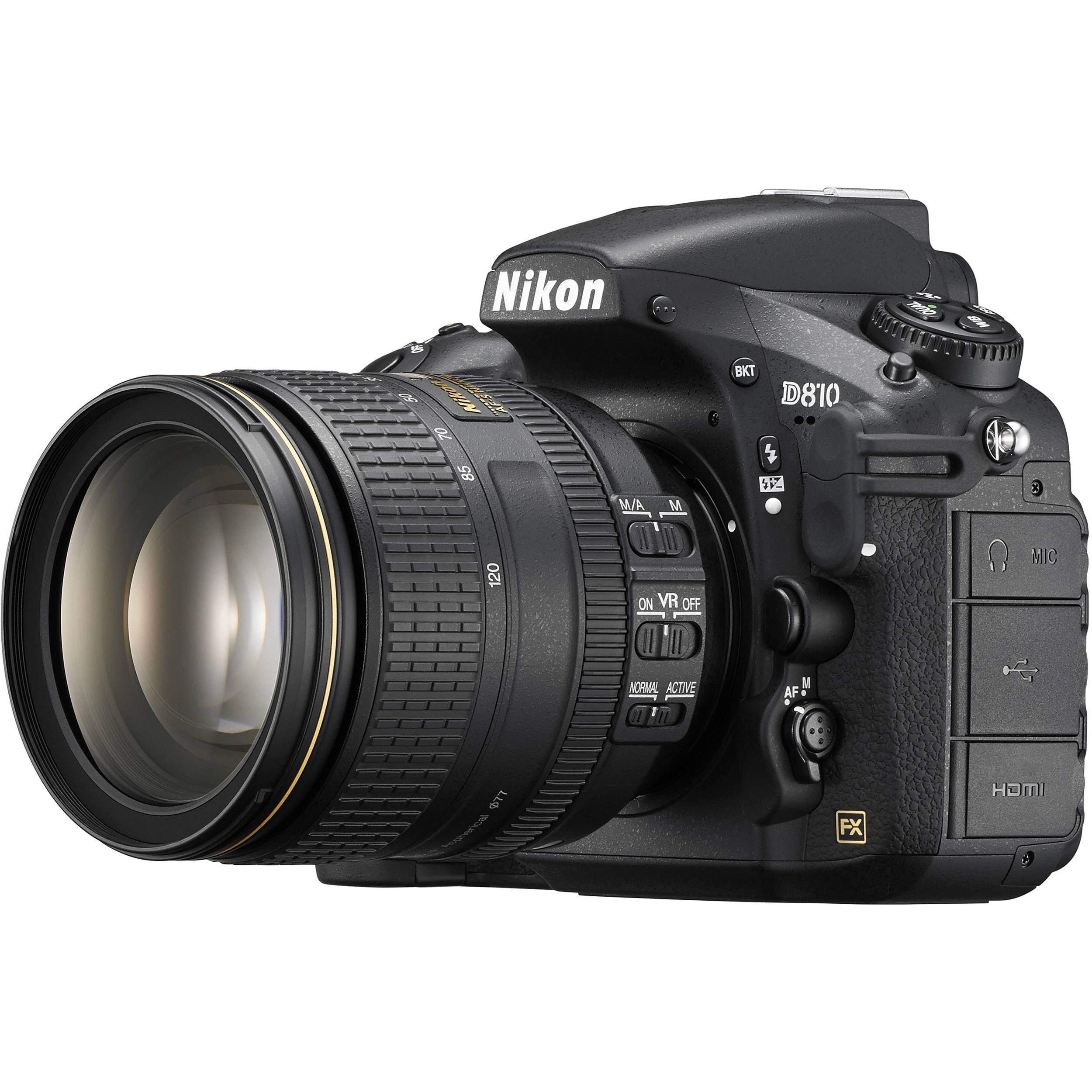Nikon D810 Dslr Camera With 24 120mm Lens 1556 B H Photo Video Nikon Best Camera Nikon Dslr