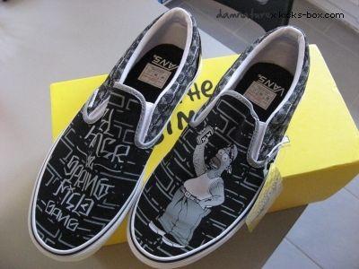 6068f5968f Vans Simpsons x Mr Cartoon