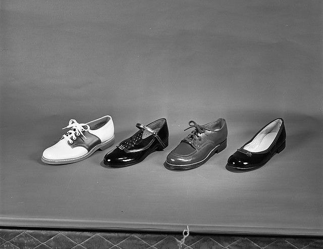 Title: Thalhimers, shoes  Creator: Adolph B. Rice Studio