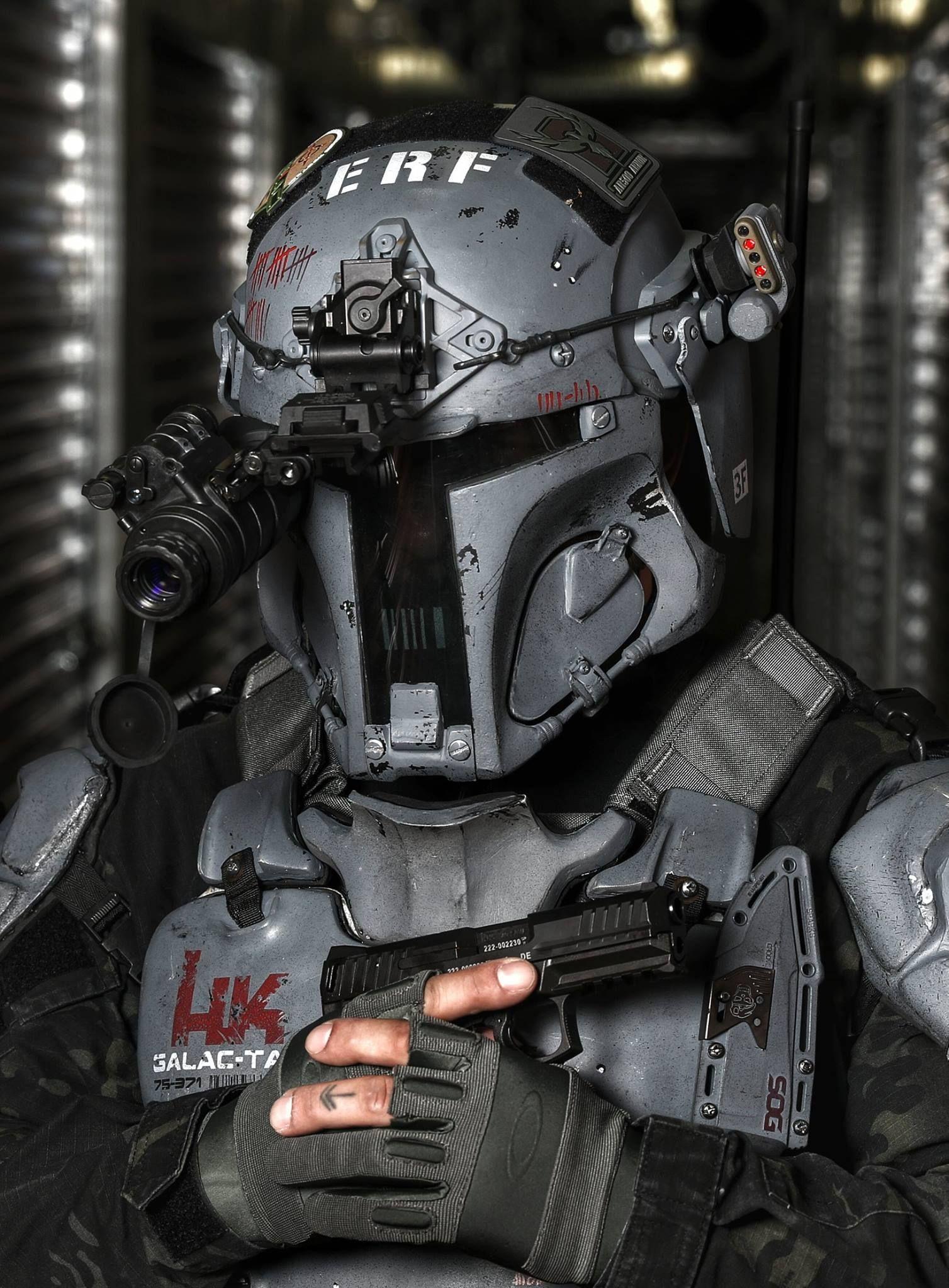 AR500 Armor Builds Mandalorian Ballistic Armor   Einrichten und ...