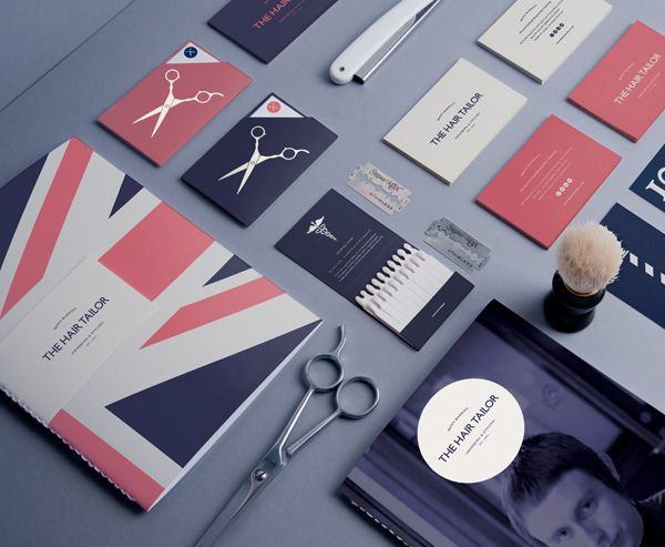 The Hair Tailor project by Pete Gardner is an example of a great corporate identity. Check out more design ideas here: