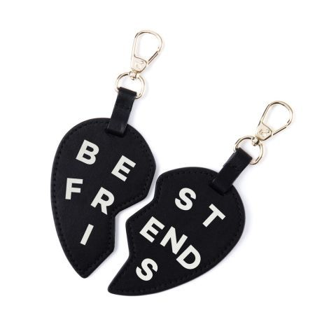Pop & Suki BFF Heart Keychains ($45) are great holiday gifts to get for your ultimate partner in crime!