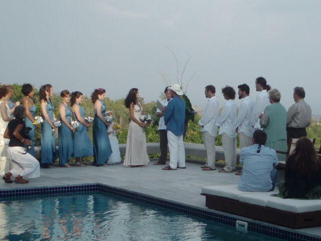 Beautiful wedding at Casa Cielo on Vieques Island.