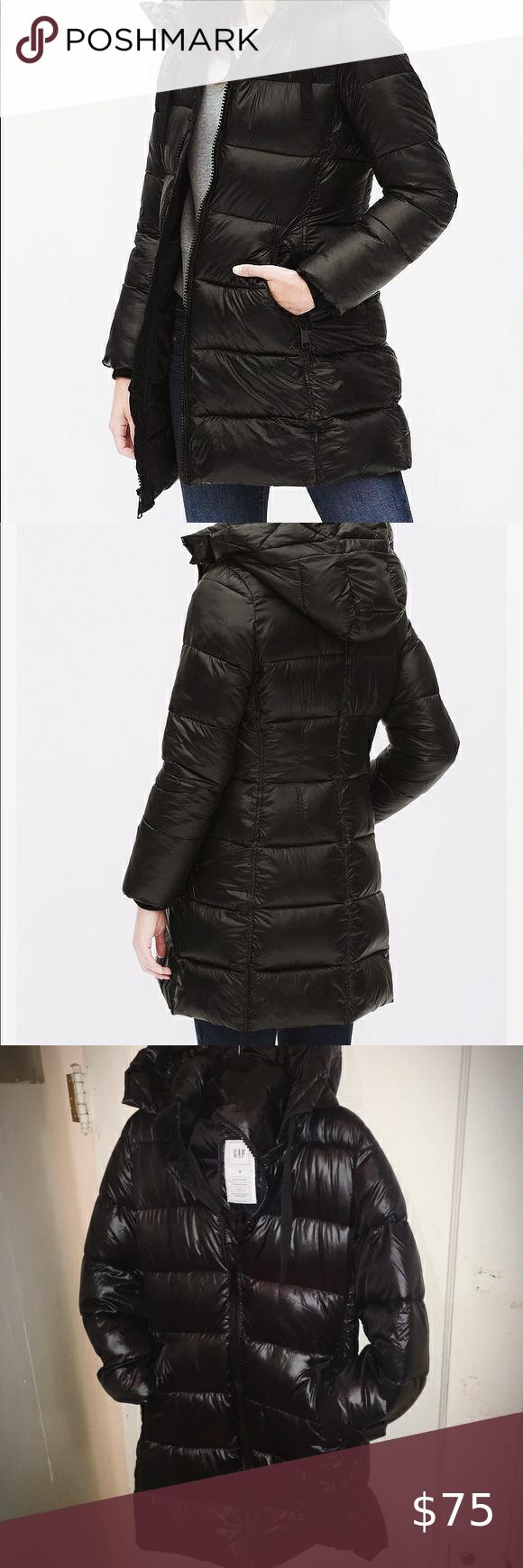 New Gap Coldcontrol Puffer Coat Size M Clothes Design Puffer Coat Fashion [ 1740 x 580 Pixel ]