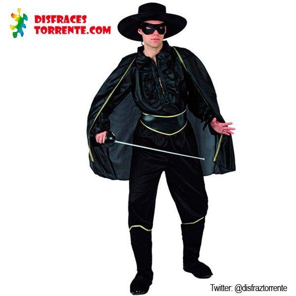 #BANDIT CAPE ZORRO ADULT COSTUME FANCY DRESS HALLOWEEN