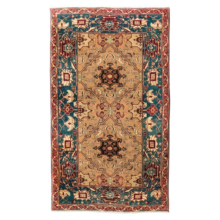 1stdibs Wool Small India Classical Circa 1890 Agra Indian Carpet