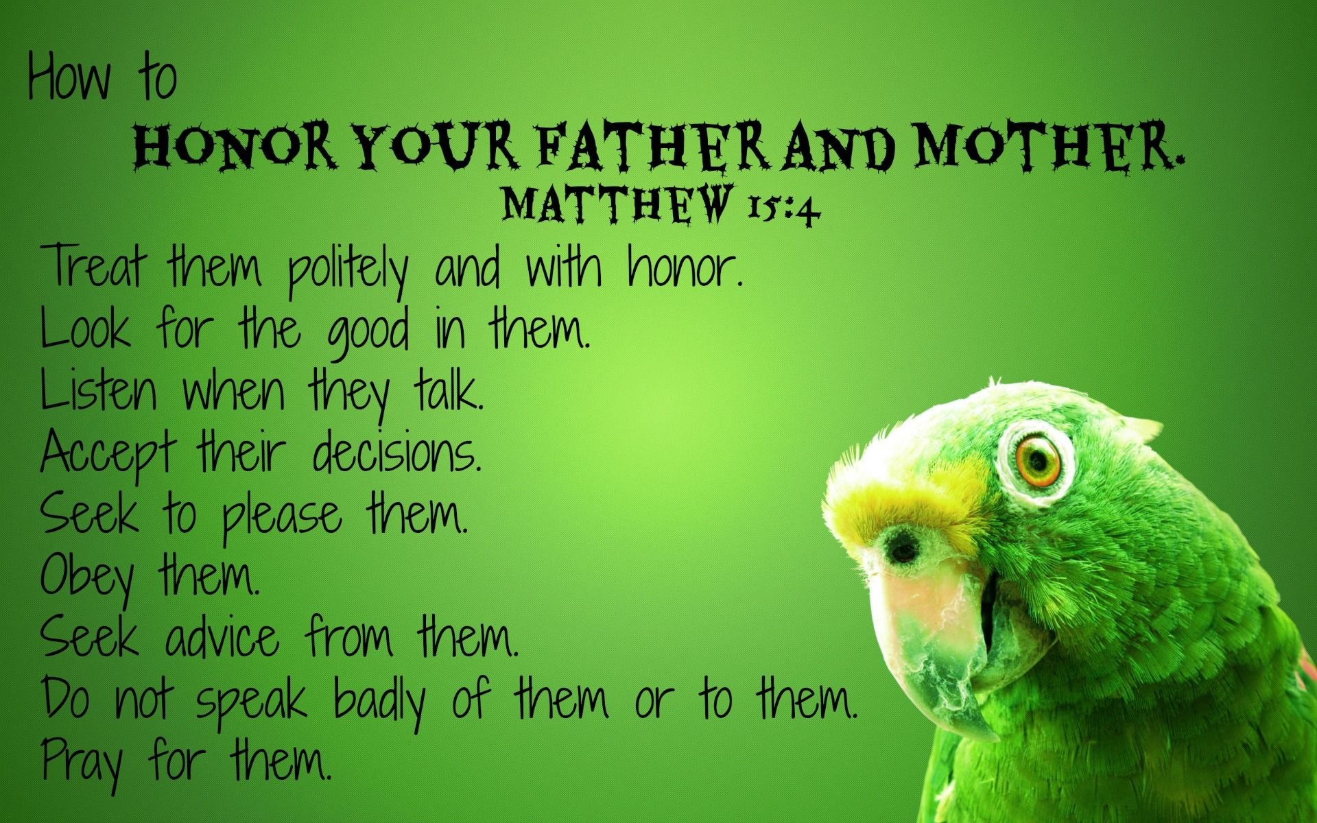 How To Honor Your Mother And Father Parenting Mother Father