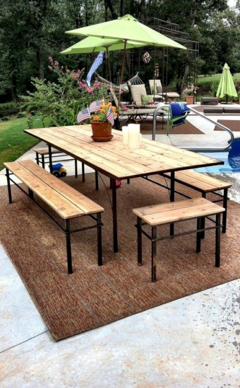 15 affordable diy outdoor bench ideas outdoor dinning