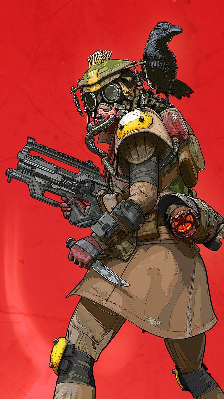 Bloodhound Apex Legends Character design, Gaming