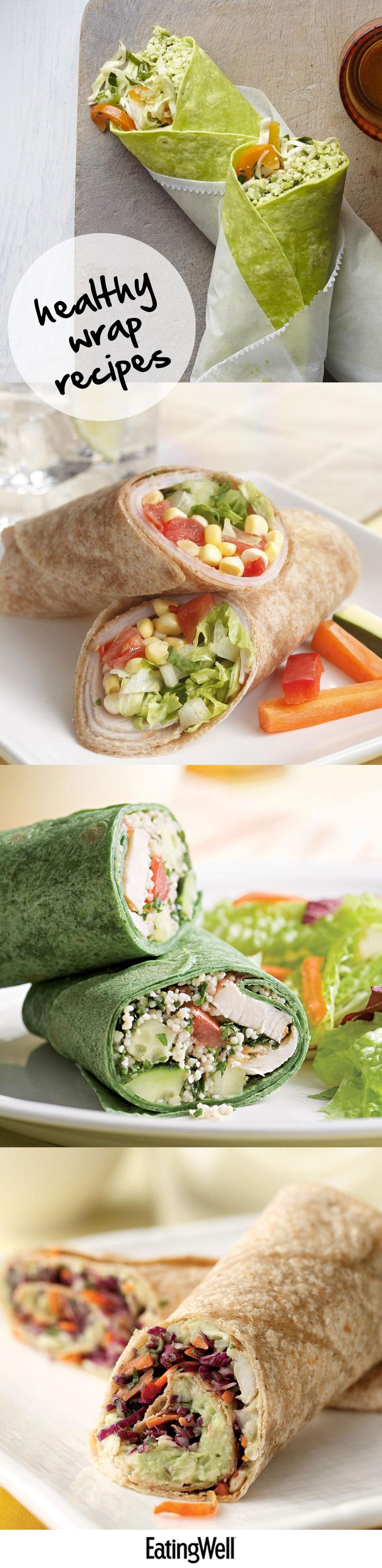 Healthy Wrap Roll Recipes Wraps Recipes Healthy Cheap Healthy Lunch Wrap Recipes