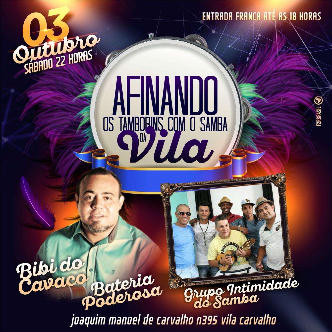 Flyer evento on-line | Cliente: Vila Carvalho | Pinterest