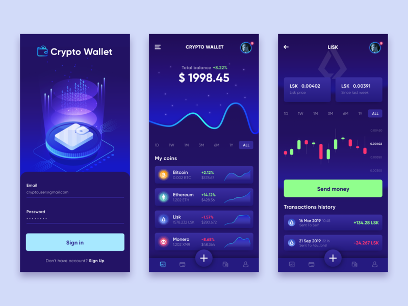 how to get a cryptocurrency wallet