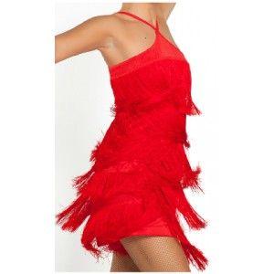 76b701b26b6 vestido de flecos para bailar salsa - Buscar con Google   moda ...