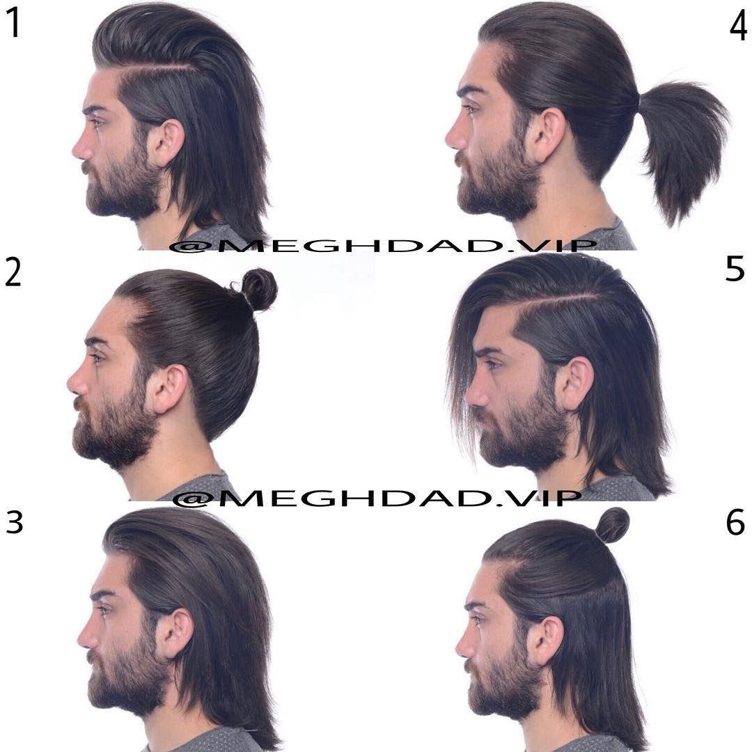 Long Hair Ideas For Men Long Hair Ideas For Men Pinterest Long