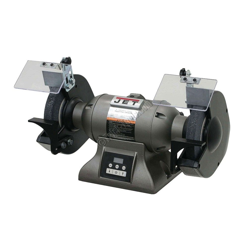 Jet Variable Speed 8 Inch Bench Grinder Goods Bench