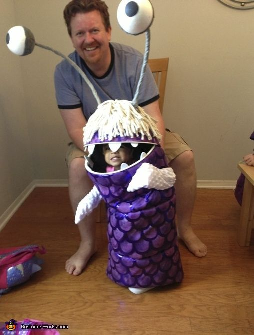 This homemade costume for babies entered our 2013 Halloween Costume Contest.  sc 1 st  Pinterest & Boo from Monsters Inc. - Halloween Costume Contest at Costume-Works ...