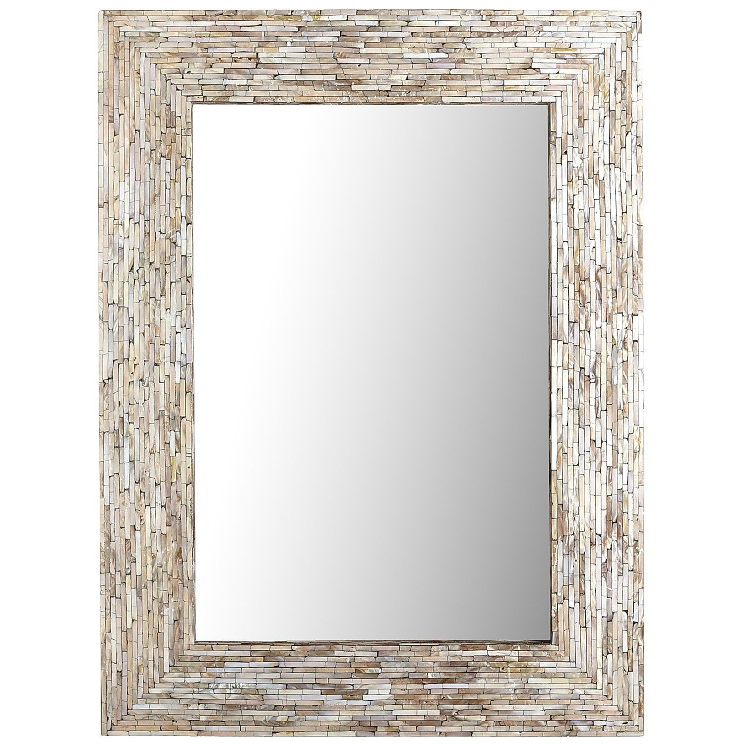 Gray Mother Of Pearl Mirror   30x40   Pier1 US $199, For Entry