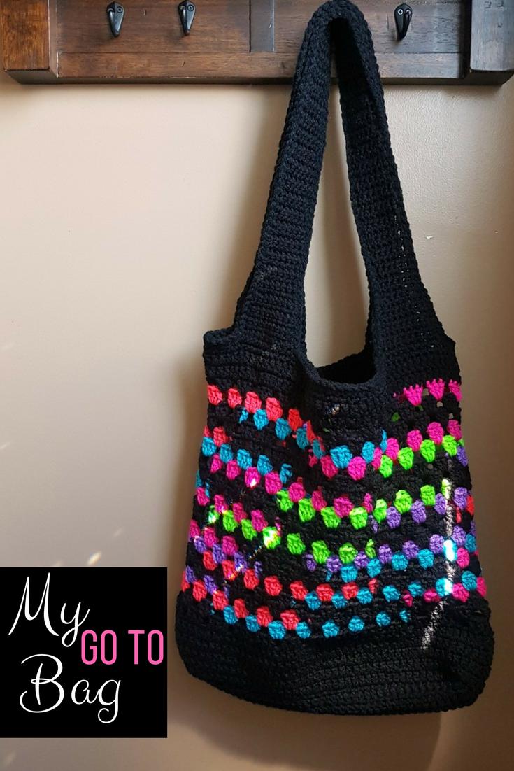 My Go To Bag Free Crochet Bag Patterns Pinterest Crochet