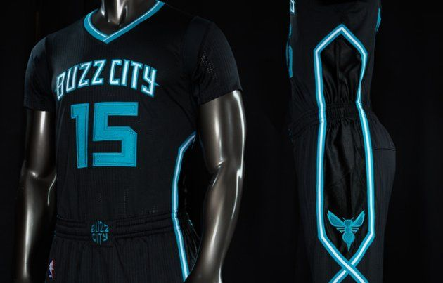 589f83a35 Charlotte Hornets black jerseys