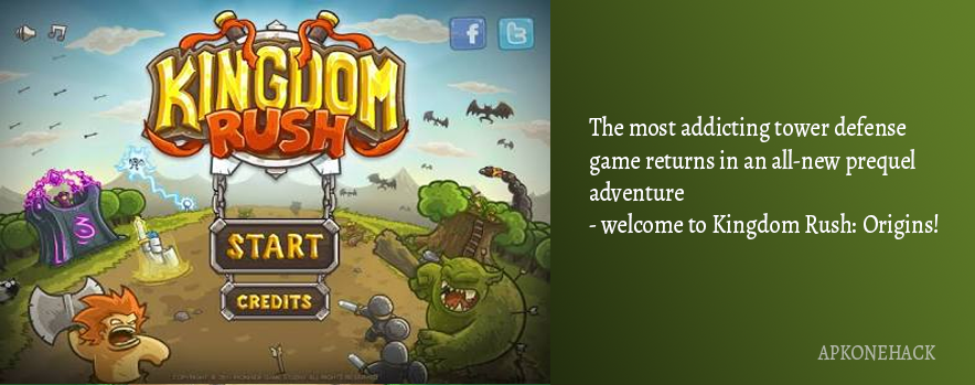 Kingdom Rush is an Strategy game for android Download latest version