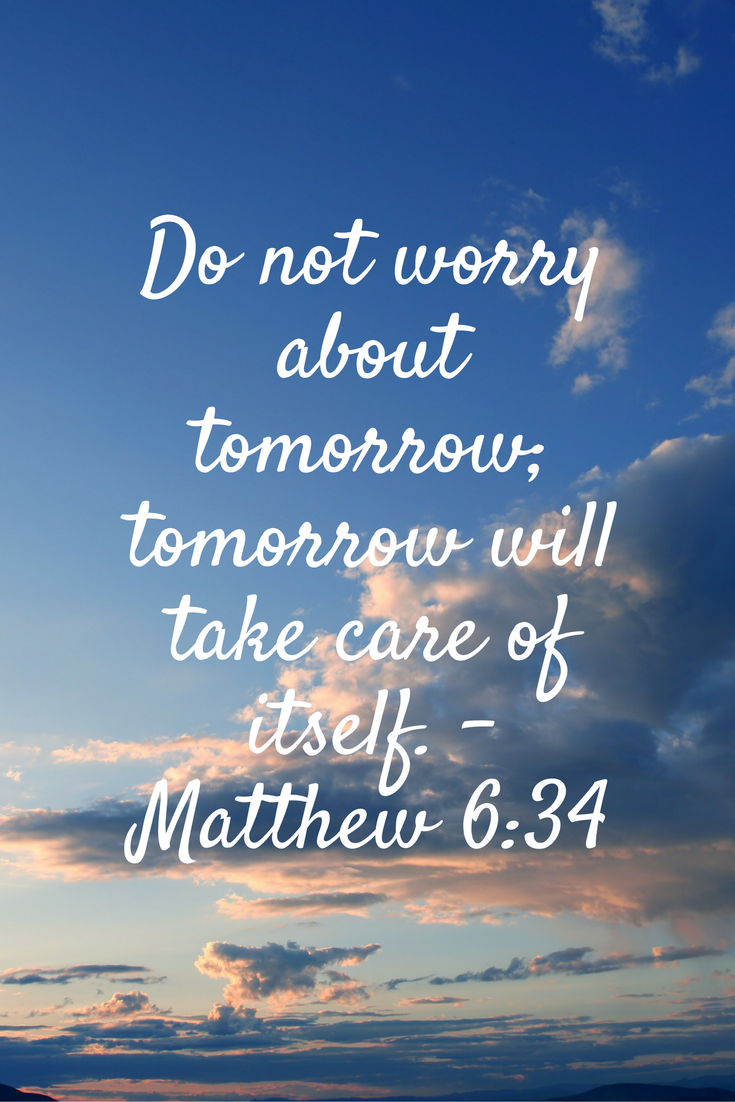 Image result for do not worry bible verse