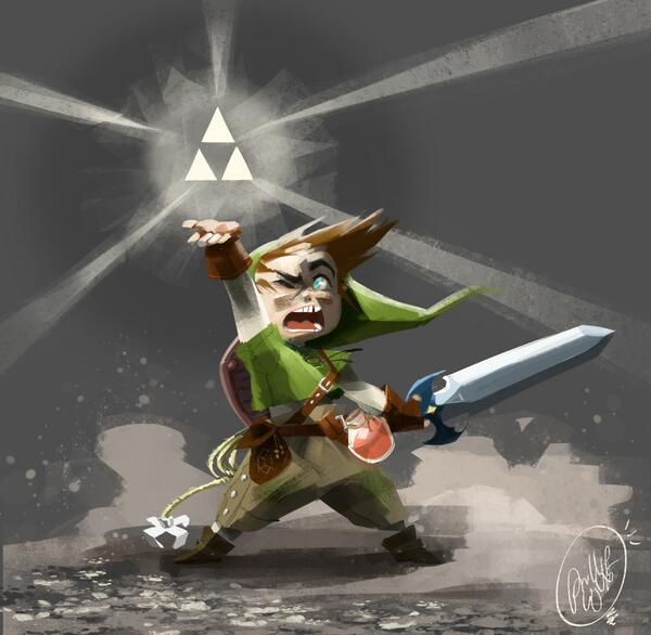 Legend Of Zelda Art Jam
