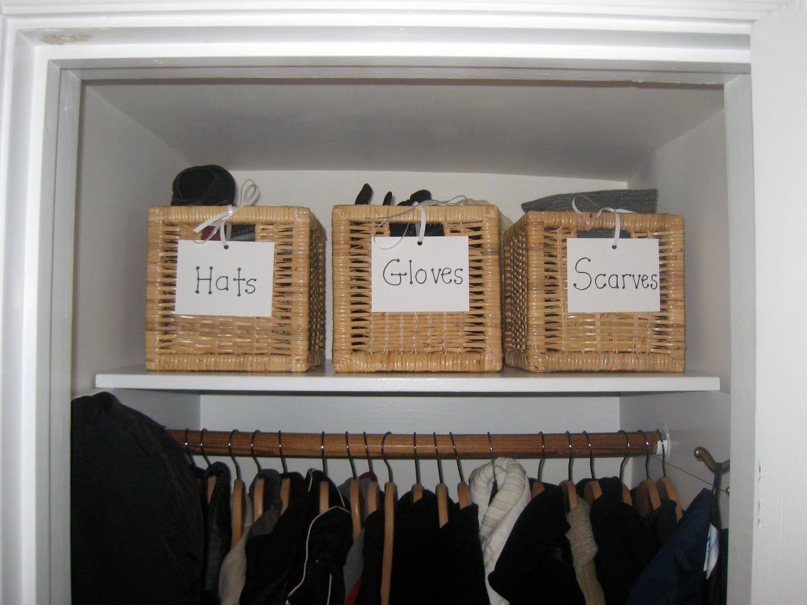 Hallway coat closet  Coat closet organization  Coat closet  Pinterest  Coats Closet
