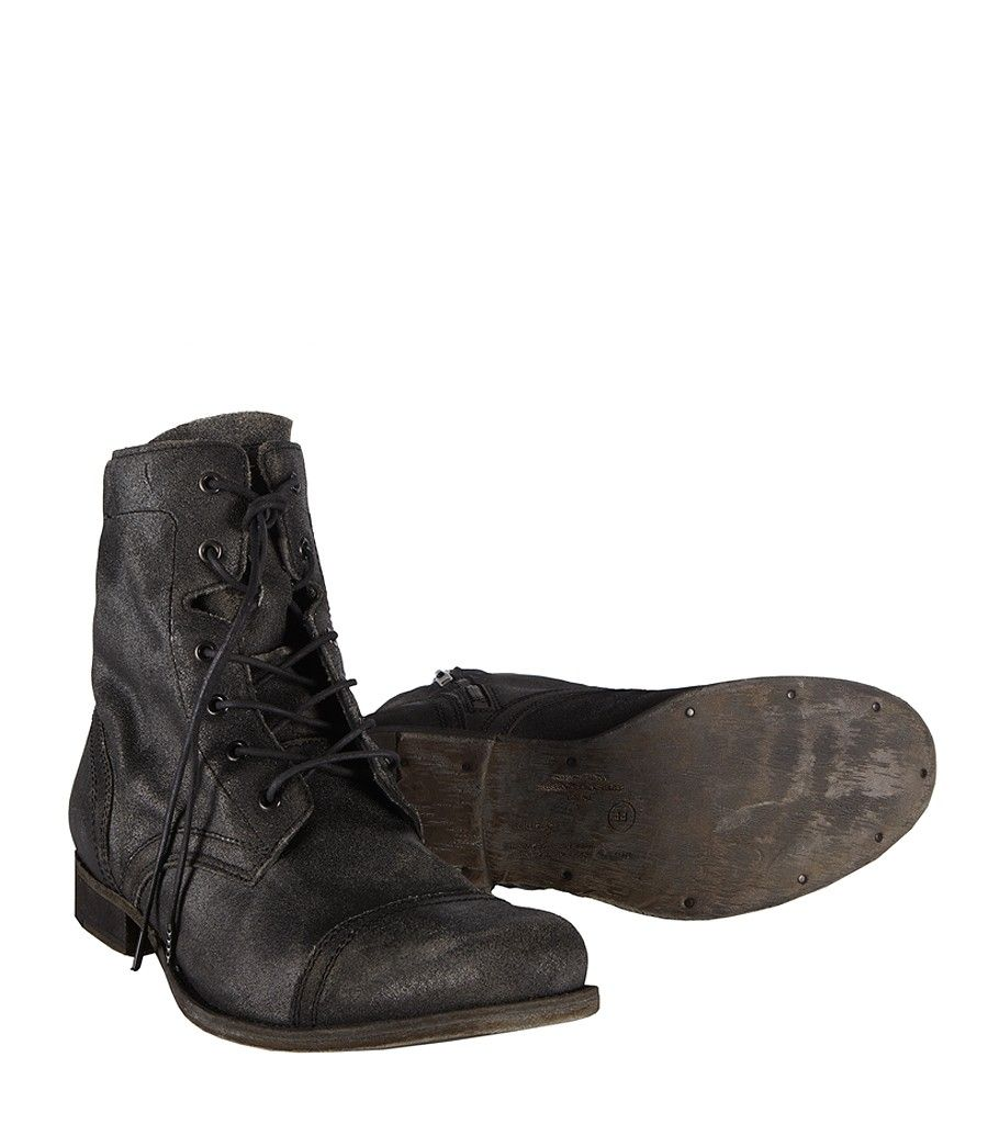 Cropped Military Boot, Men, Boots