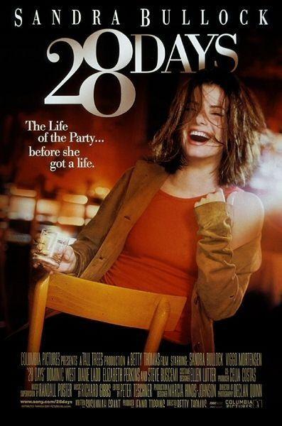 28 Days Movie Poster - Internet Movie Poster Awards Gallery