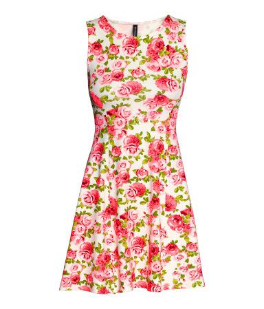 The perfect print! Rose printed dress. #HMDIVIDED