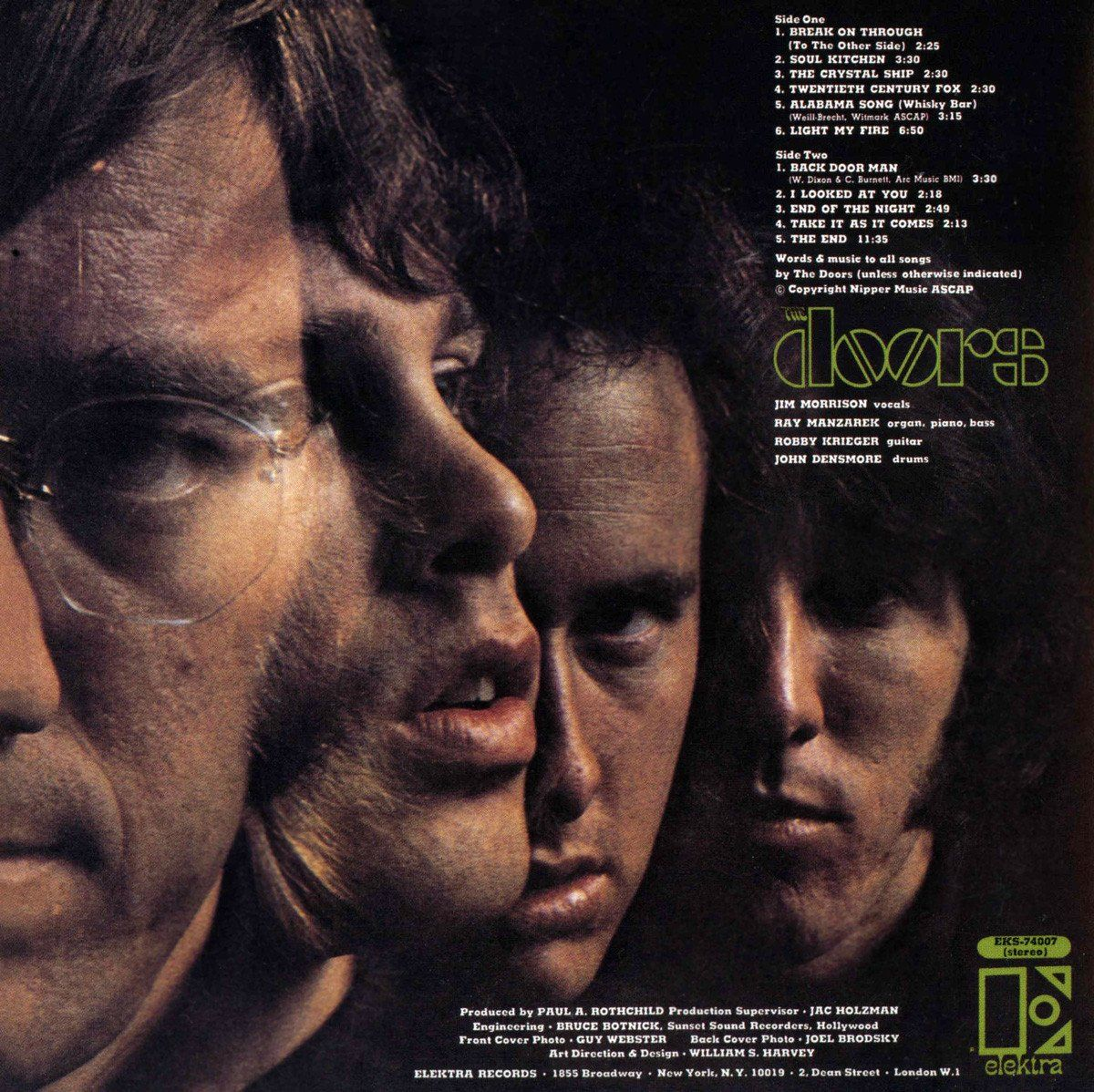 The Debut Album By The American Rock Band The Doors Originally Released In Significantly Different Stereo And Jim Morrison Alabama Song The Doors Jim Morrison