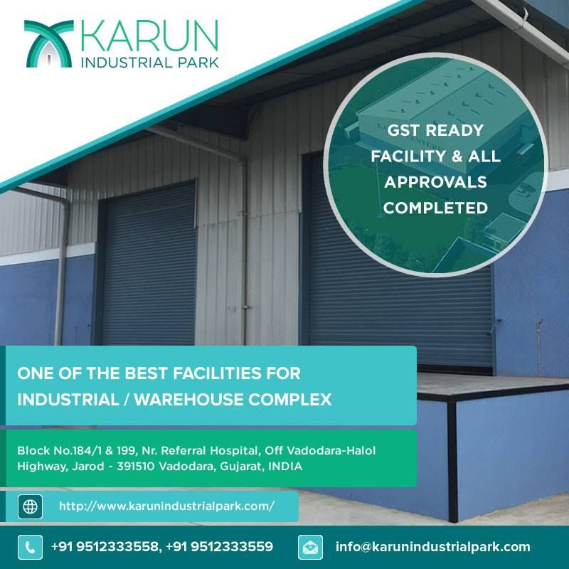 Industrial Space Warehouse Are Available For Rent Lease With Best Facilities At Halol Vadodara Industrial War Industrial Space Warehouse Project Vadodara