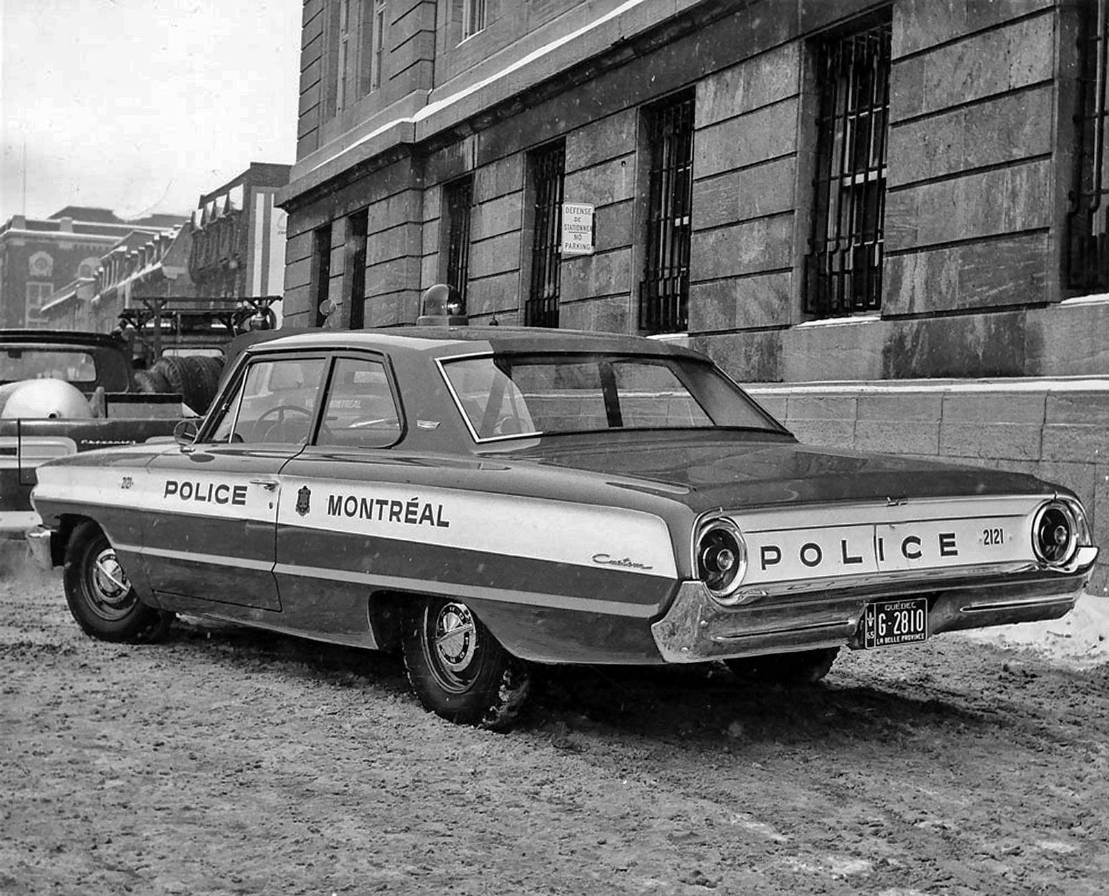 4 Fevrier 1965 Montreal Police 15 Jpg Police Cars Old Police