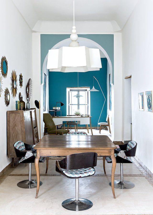 Turquoise Interiors | Home Decor | Pinterest | Maison, Salle à ...