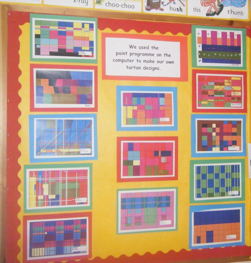 Wall Hanging Lesson Plan: Tartan Art Lesson - Google Search