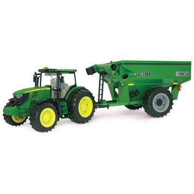 1/16 Big Farm Tractor w/ Grain Cart
