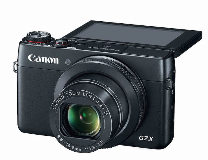 One of the best vlogging cameras for YouTube is the PowerShot G7 X ...