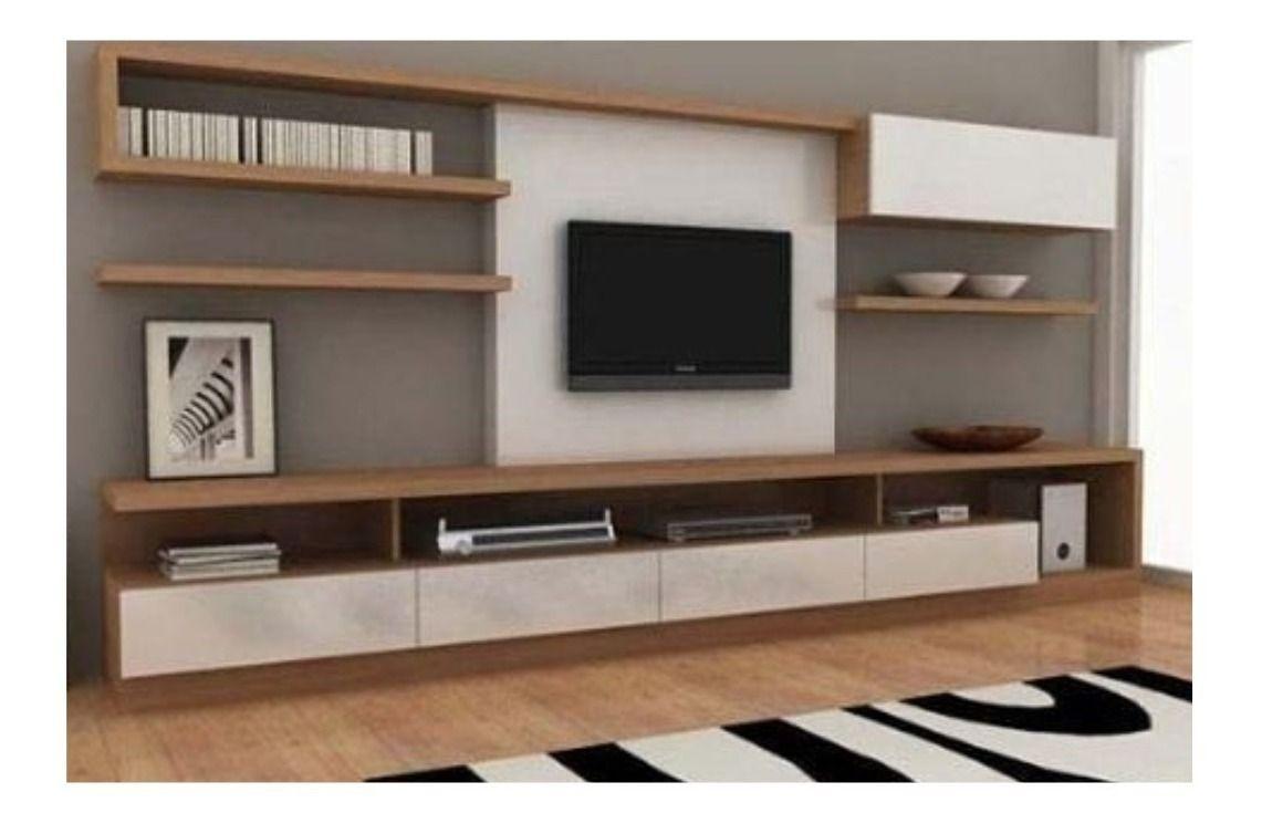 Mueble Rack Modular Moderno Minimalista Led Tv 55 12 Cuotas 65 990 00 Muebles Rack Muebles Para Tv Minimalistas Muebles Para Tv Modernos