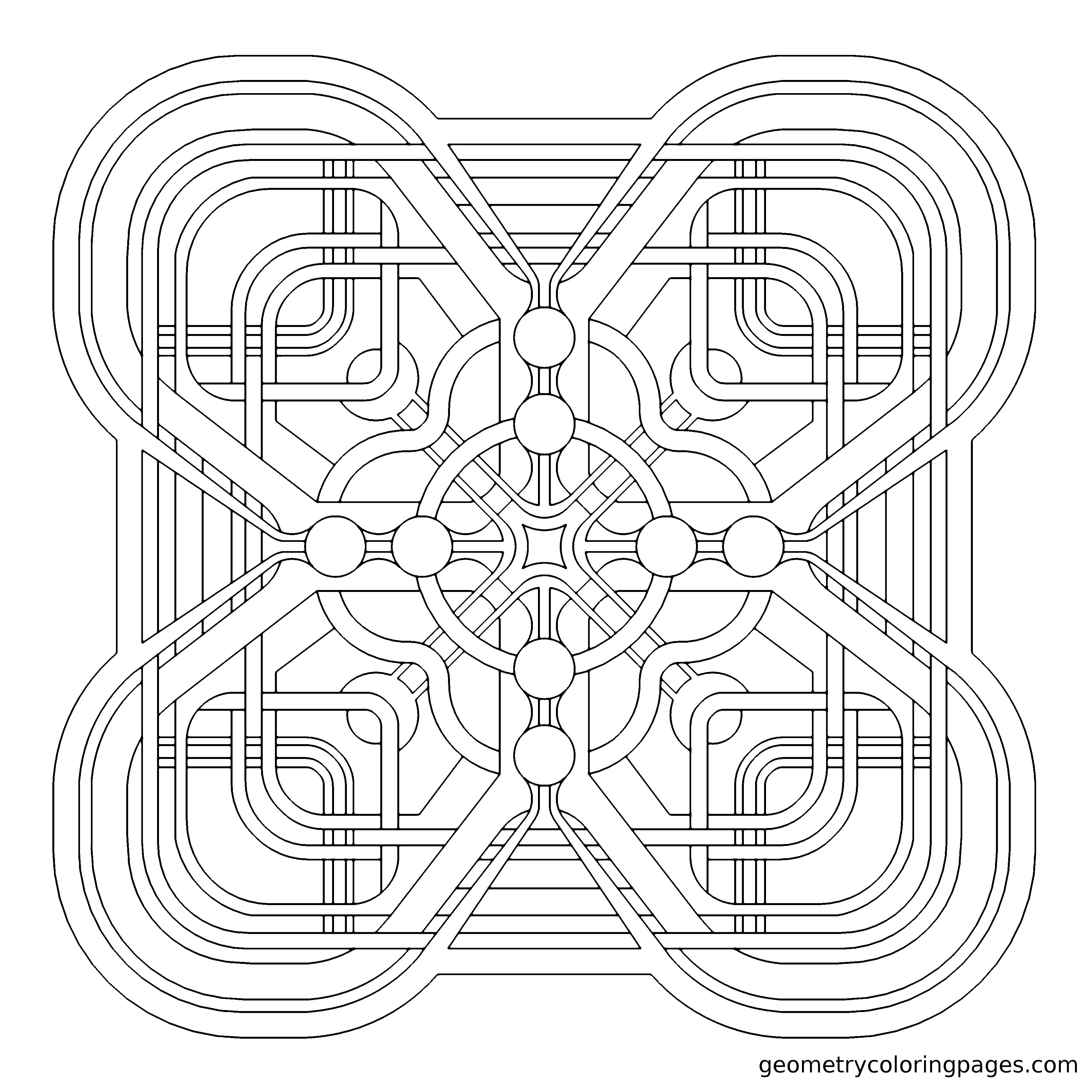 u0026quot circuit iii u0026quot  geometry pattern from geometrycoloringpages