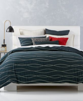Hotel Collection Modern Wave Cotton Bedding Collection Only At Macy S Macys Com Bedding Collections Cotton Duvet Cover Hotel Collection