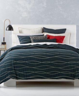 Marimekko Jurmo Blue Sheet Sets In All Decorative Bedding Crate And Barrel Blue Bedding Sets Blue Sheet Sets Blue Linen Bedding