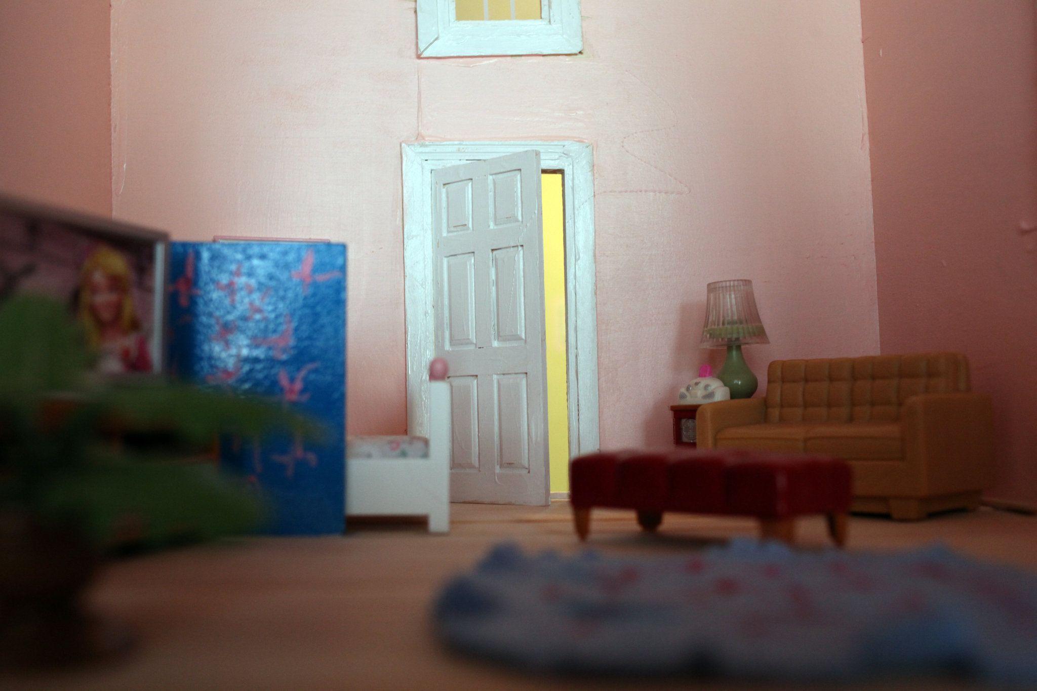 Vintage DollHouse Interior Doll House Home Pinterest