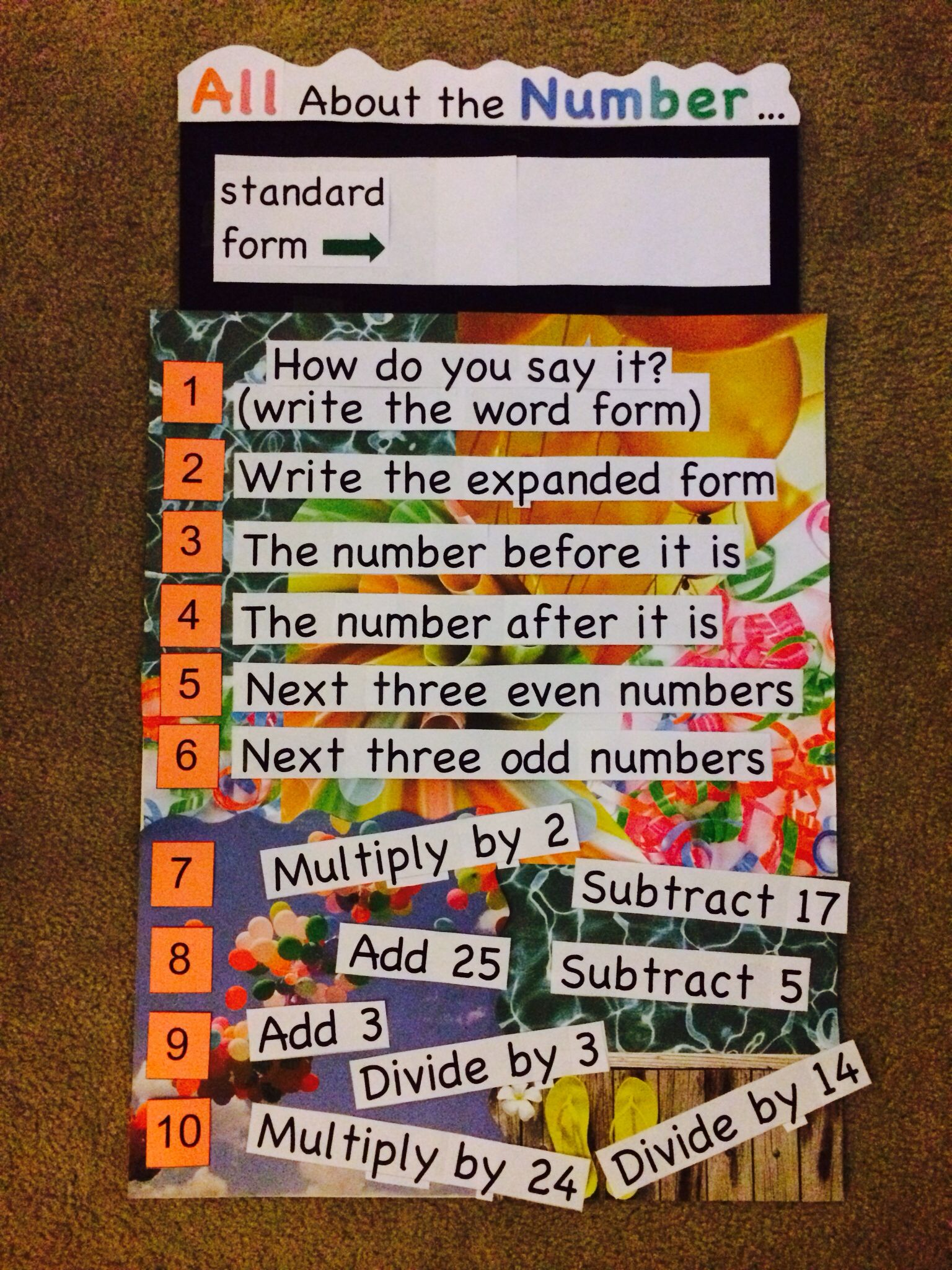 Daily Math Warm Up Number Sense Students Complete Any