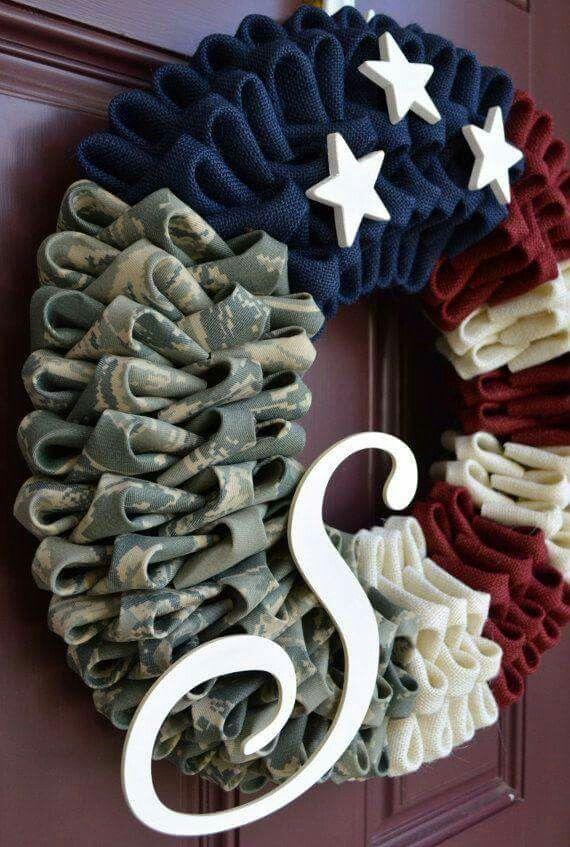 Cool patriotic wreath