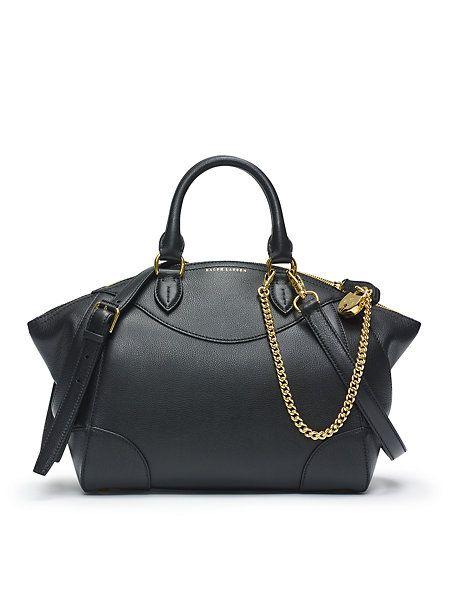 Small Bedford Calfskin Bag Handbags Fall 2017 Accessories Ralph Lauren Uk