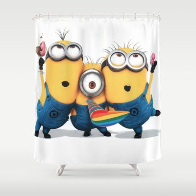 Minions Shower Curtain By Thonghj 68 00 Happy Birthday