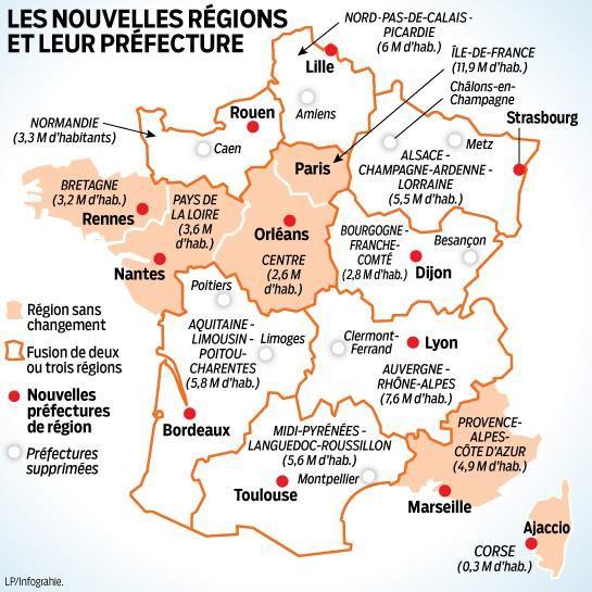 Videos Le Gouvernement Devoile Les Nouvelles Capitales Regionales Nouvelles Regions Les Regions De France Cours Histoire