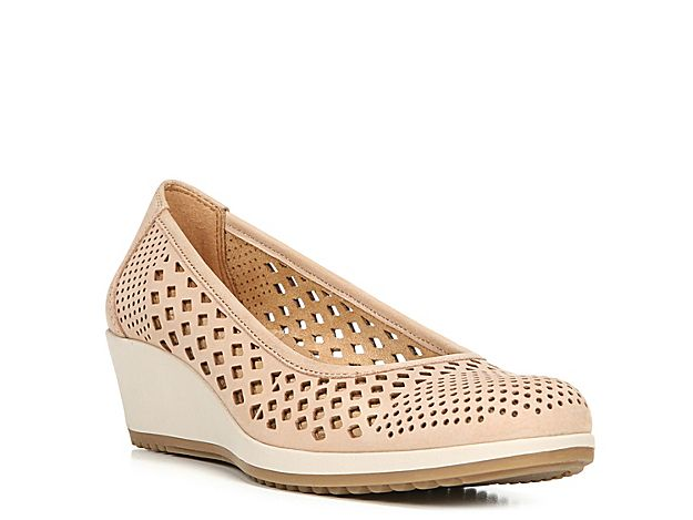 Women Brelynn Wedge Pump -Blush