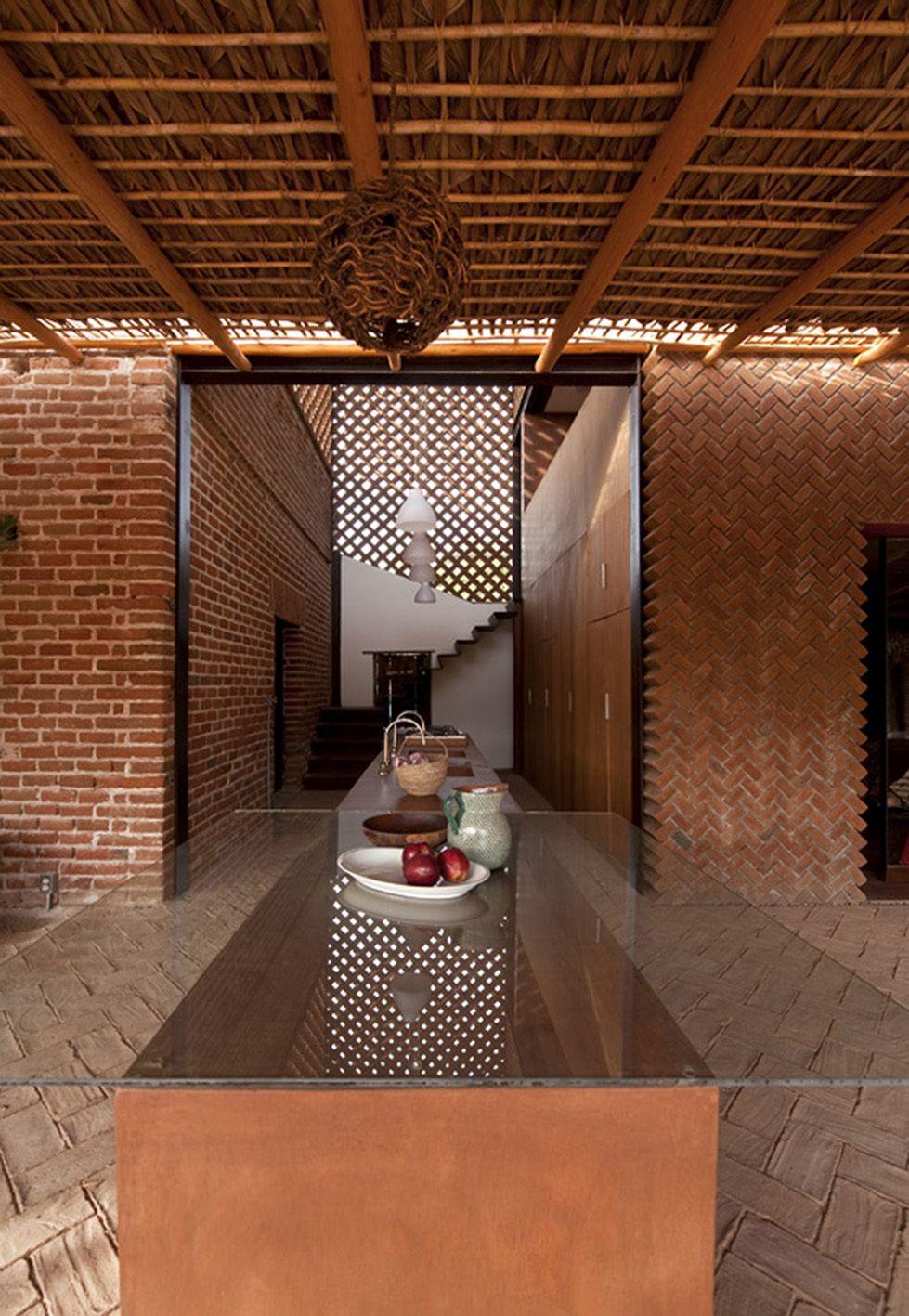 Galer a de casa tabique tac taller de arquitectura for Arquitectura de casas modernas